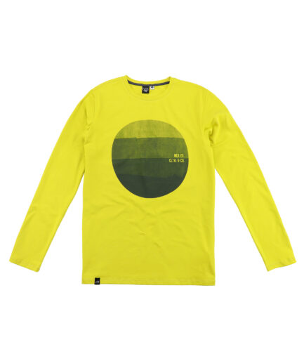 zeleno zuta muska majica dugih rukava