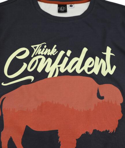 bizon detalj muska majica dugih rukava
