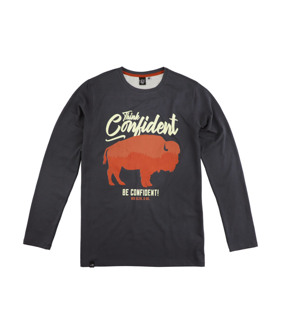 muska majica bizon dugih rukava