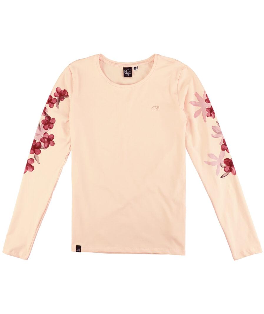 ženska bluza sa cvetnim printom