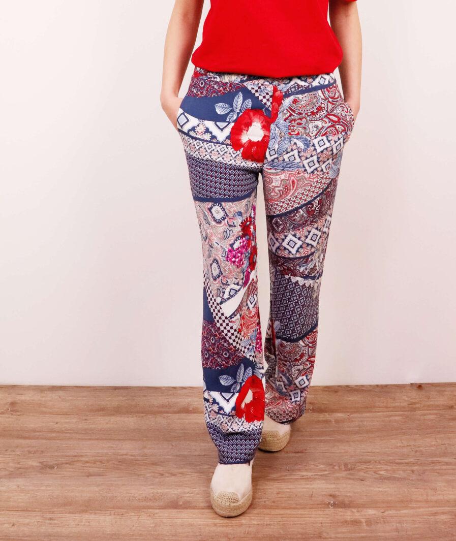 leprsave ženske pantalone