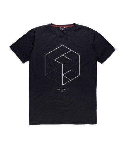Muska crna majica sa stampom