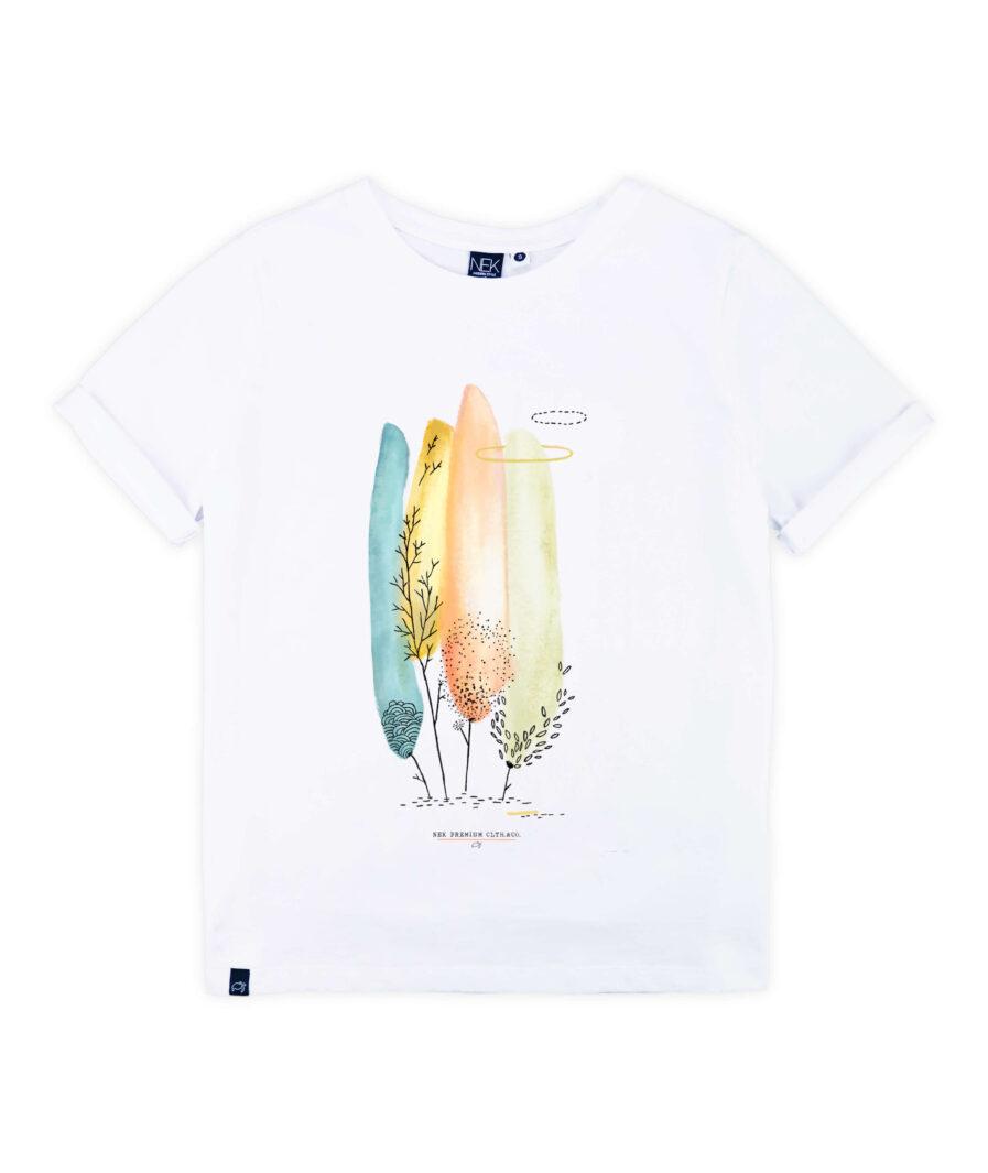 majica zenska kratak rukav sa printom
