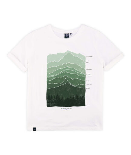 zenska majica kratkih rukava planina print