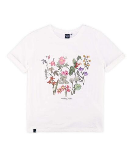 zenska majica kratkih rukava sa cvetnim printom